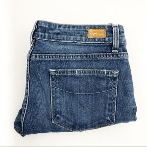 PAIGE blue heights skinny jean | size 31